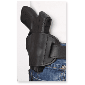 Molded Leather Holster